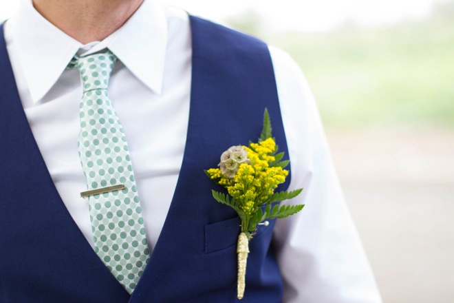 Awesome handmade boutonnieres