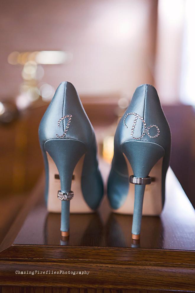 I Do - wedding shoe stickers