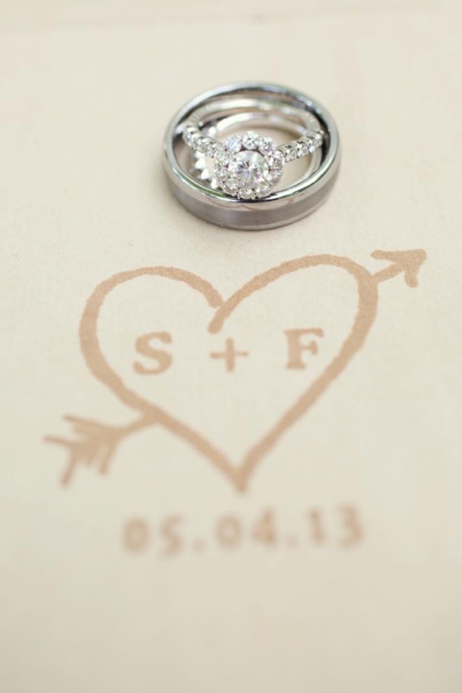 Gorgeous wedding ring shot