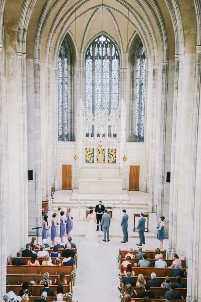 Trinity Chapel Wedding, Toronto