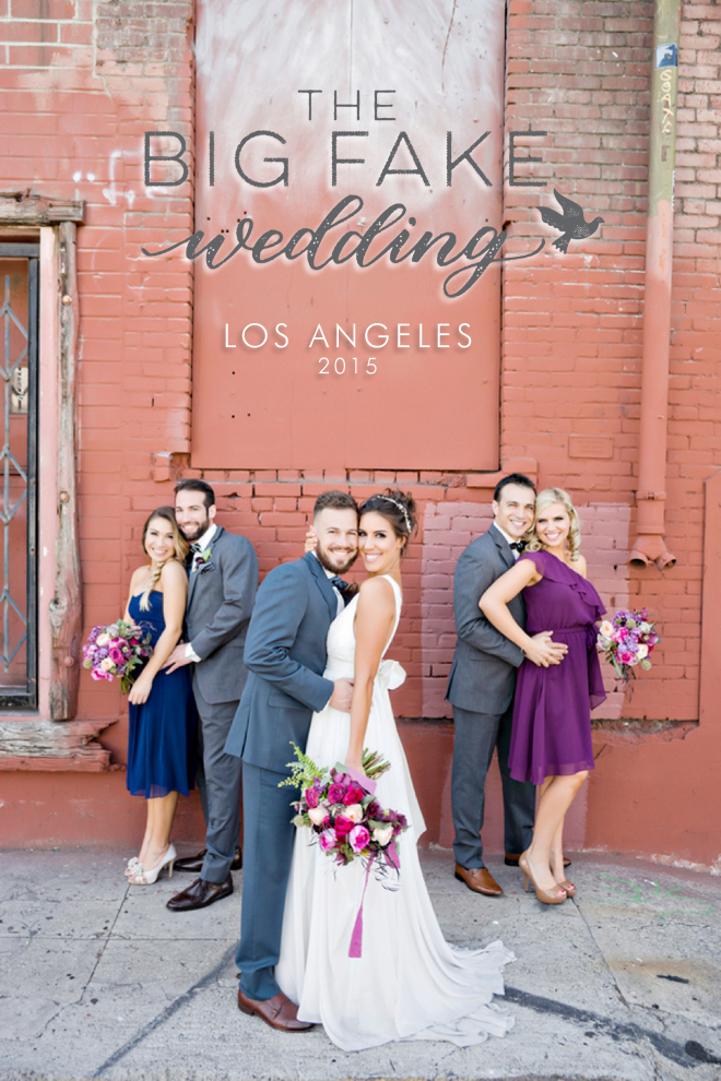 The Big Fake Wedding, Los Angeles - Andie Freeman Photography