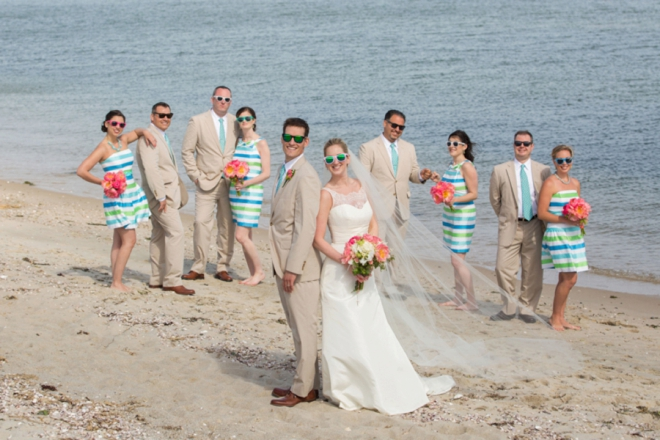 You have to see this adorable, Lilly Pulitzer theme wedding!