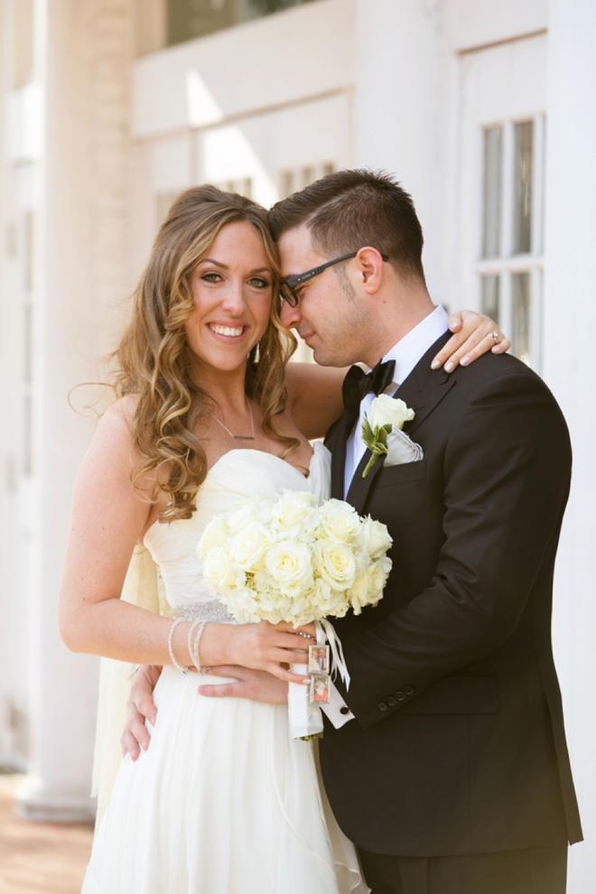Lovely, glittery, DIY New Years Wedding