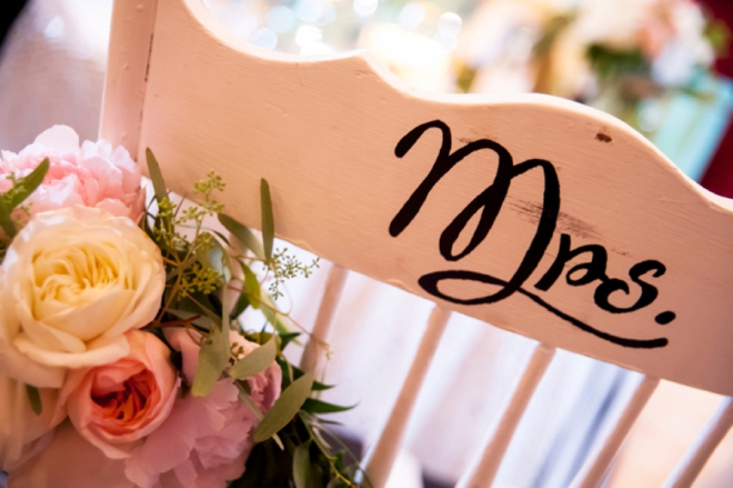 Mrs. reception chair