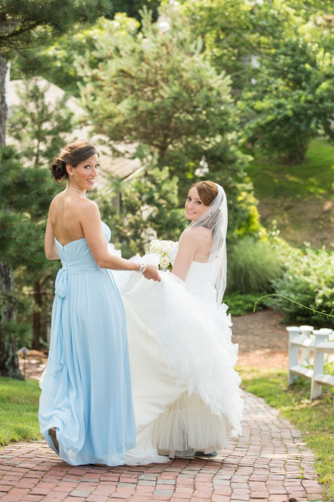 Turquoise Cape Cod Wedding