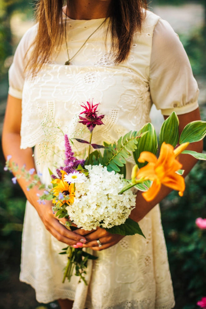 Gorgeous, boho-chic wedding