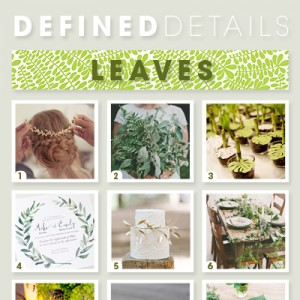 Wedding leaves!