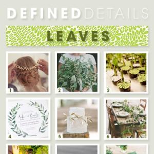 Wedding leaves!