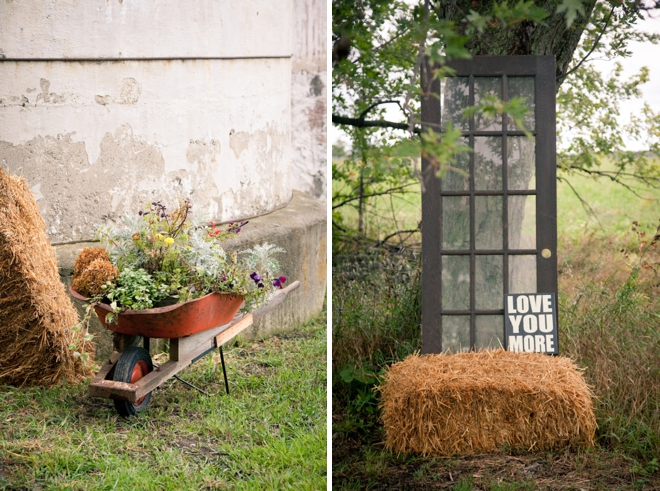 DIY, rustic shabby chic wedding