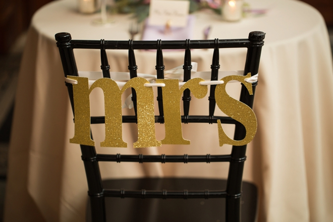 Mrs. chair sign