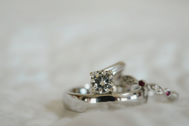 Beautiful engagement ring from Rosados Box