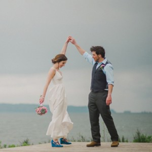 Beautiful DIY beach wedding from Erin Wallis Photography