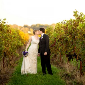 Beautiful wine themed wedding