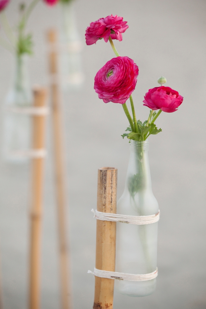 Learn How To Make A Glass Vase Flower Garden Stake