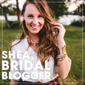 Shea DeForest, Bridal Blogger