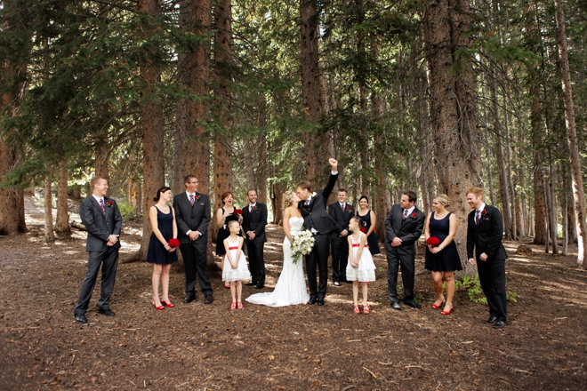 Lovely 4th of July themed wedding