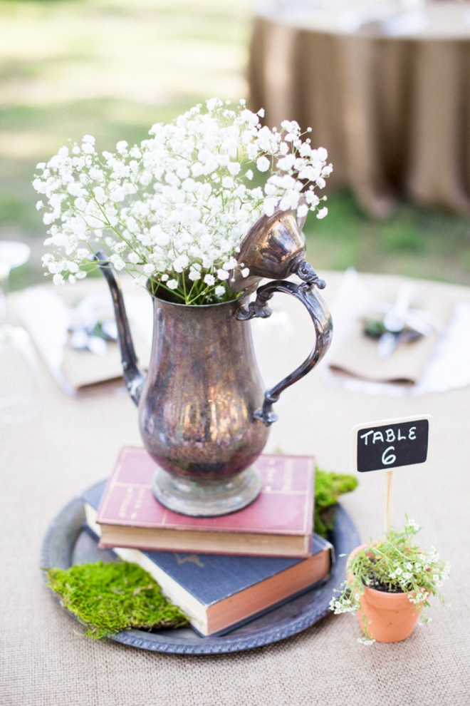 DIY Boho-chic garden wedding