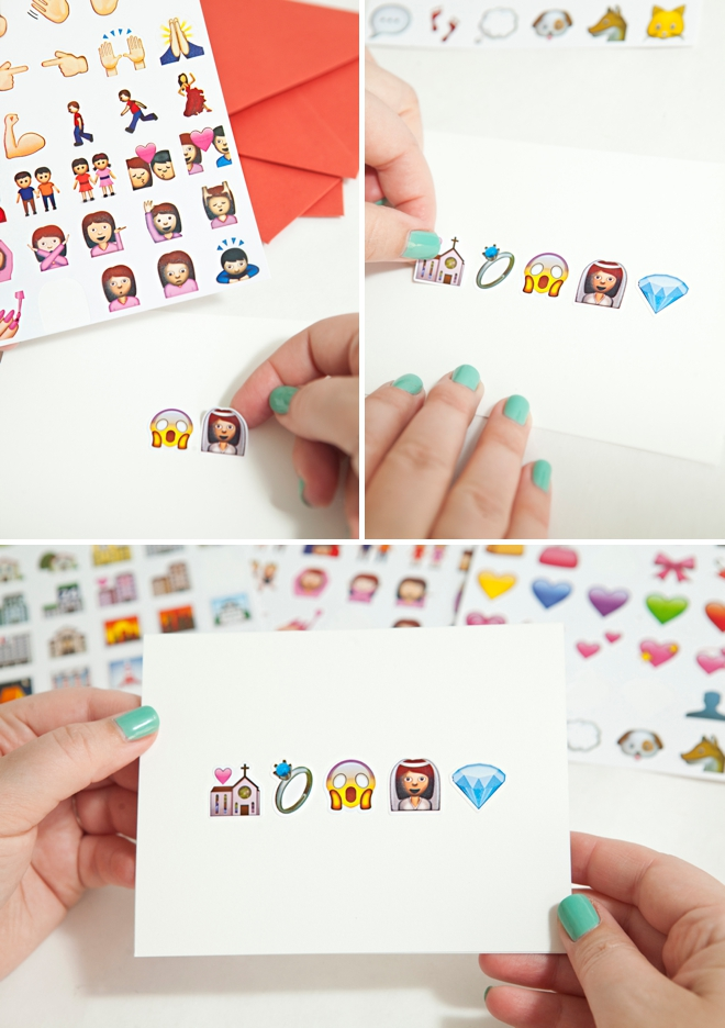 DIY awesome Emoji greeting cards!