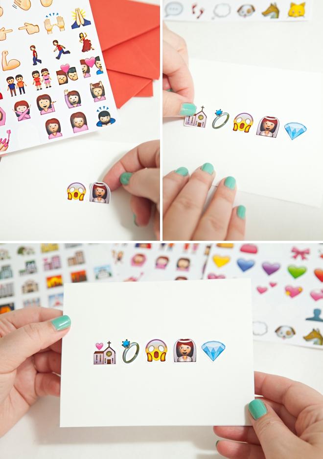 DIY awesome Emoji greeting cards!