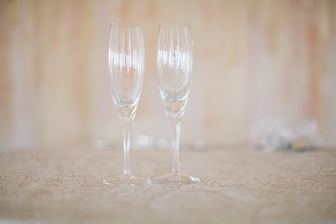 Youve got to see this gorgeous diy beach wedding wedding toasting glasses gorgeous diy solutioingenieria Choice Image