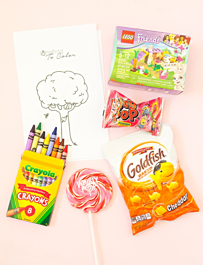Create These Adorable Kids Wedding Favors With Free Coloring Pages