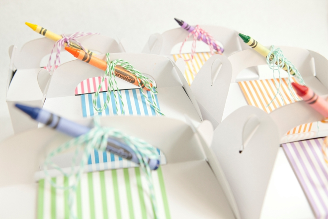 Kids Wedding Gifts: Make These Cute Kids Wedding Favors + Free Coloring Pages