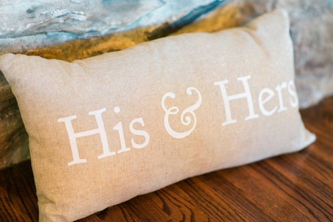 His & Hers pillow
