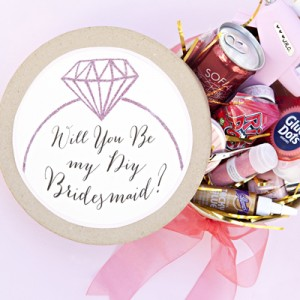 "Awesome ""Will You Be My DIY Bridesmaid"" gift idea!"