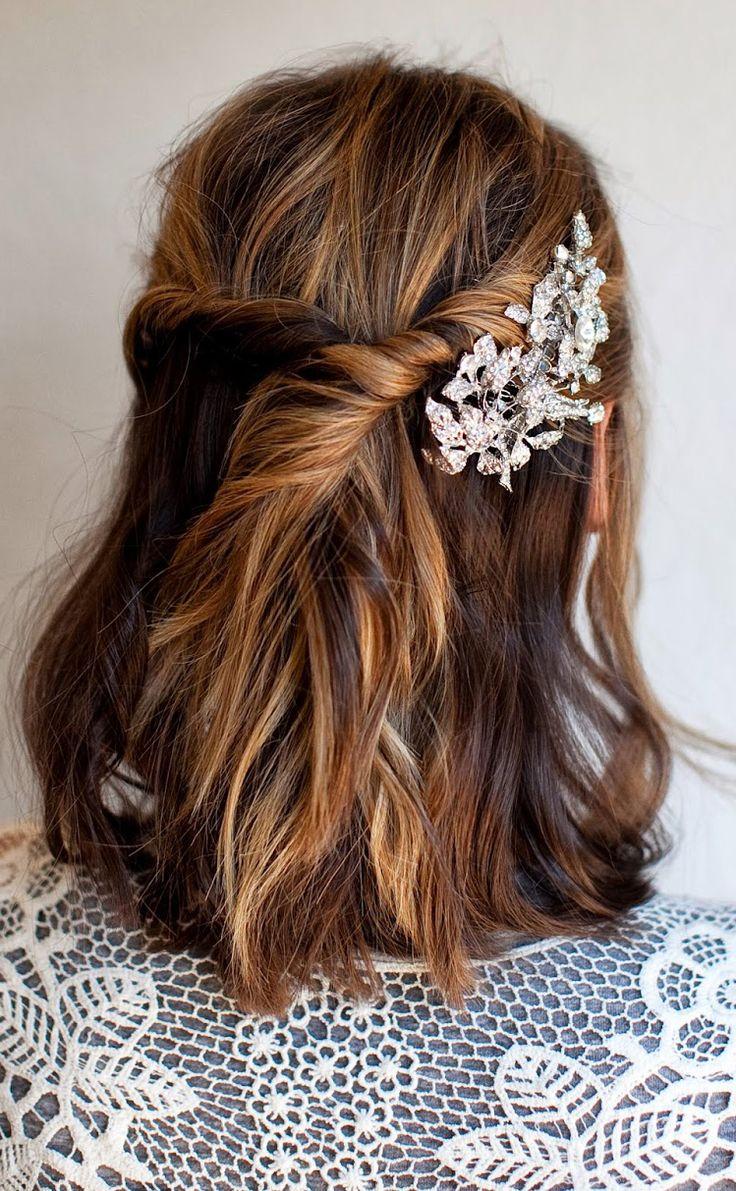 Wedding Hair Tips Half Up Half Down Styles