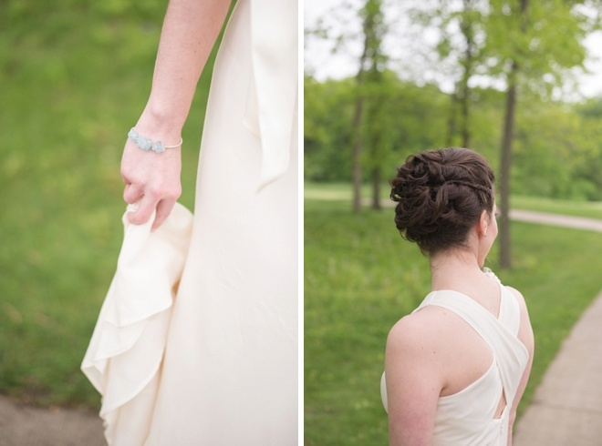 """Check out this sweet, DIY wedding with a """"pinwheel"""" theme!"""