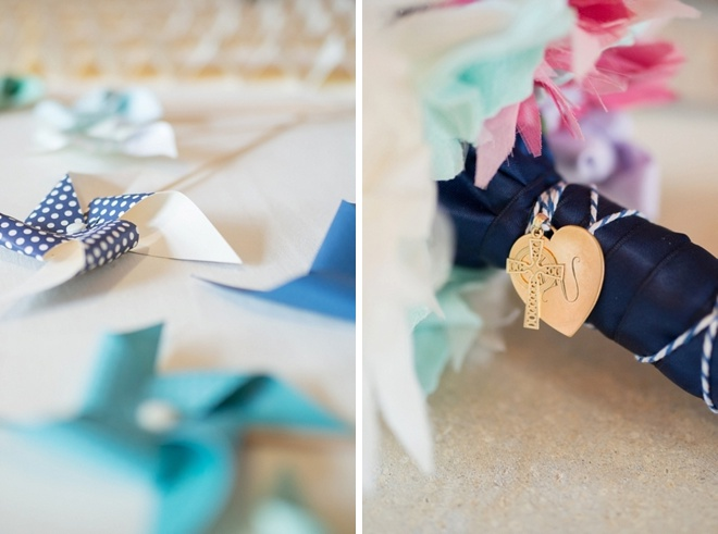 Lovely, DIY pinwheel themed wedding