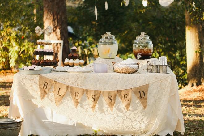 Super sweet, intimate DIY park wedding