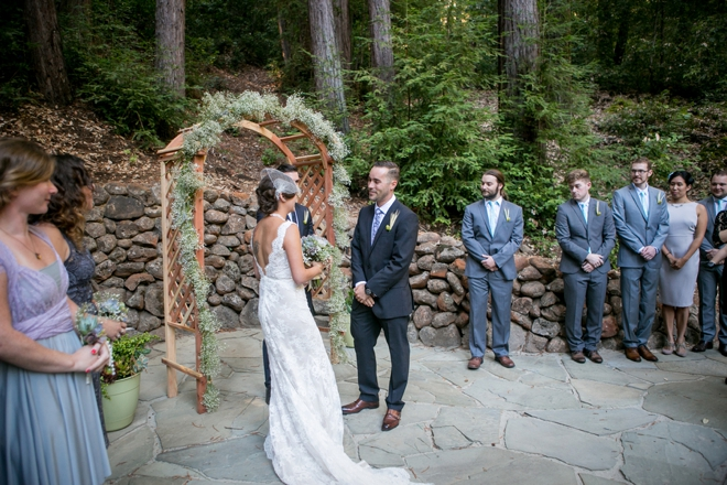 Gorgeous, DIY boho-chic cabin wedding