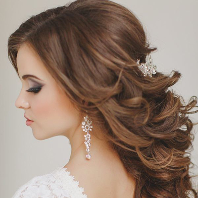 wedding hair tips half up half down styles. Black Bedroom Furniture Sets. Home Design Ideas