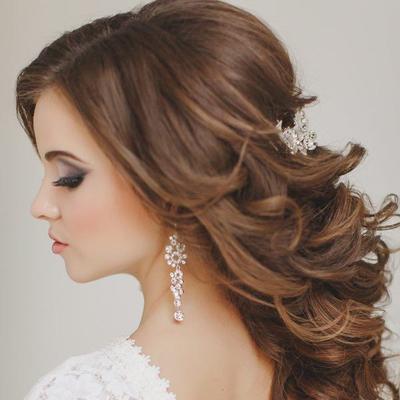 Wedding hair tips half up half down styles junglespirit Image collections
