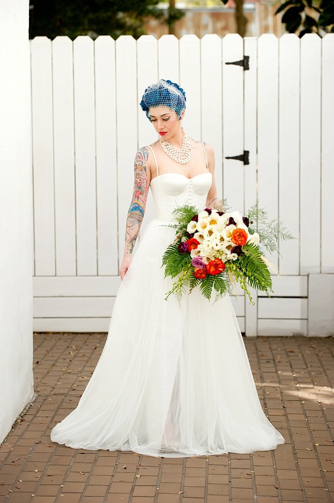 Awesome, Industrial Chic Romance Wedding Inspiration Shoot!