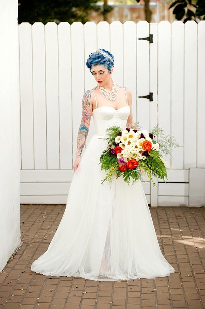Industrial-Chic Romance + Craft Brew Wedding Inspiration