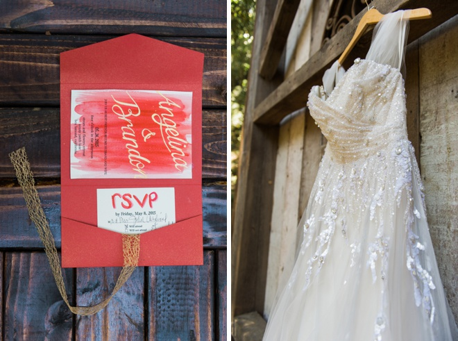 Beautiful, DIY wedding in the forest of Santa Cruz
