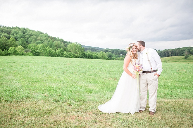 Super Sweet Handmade Barn Wedding On A Budget