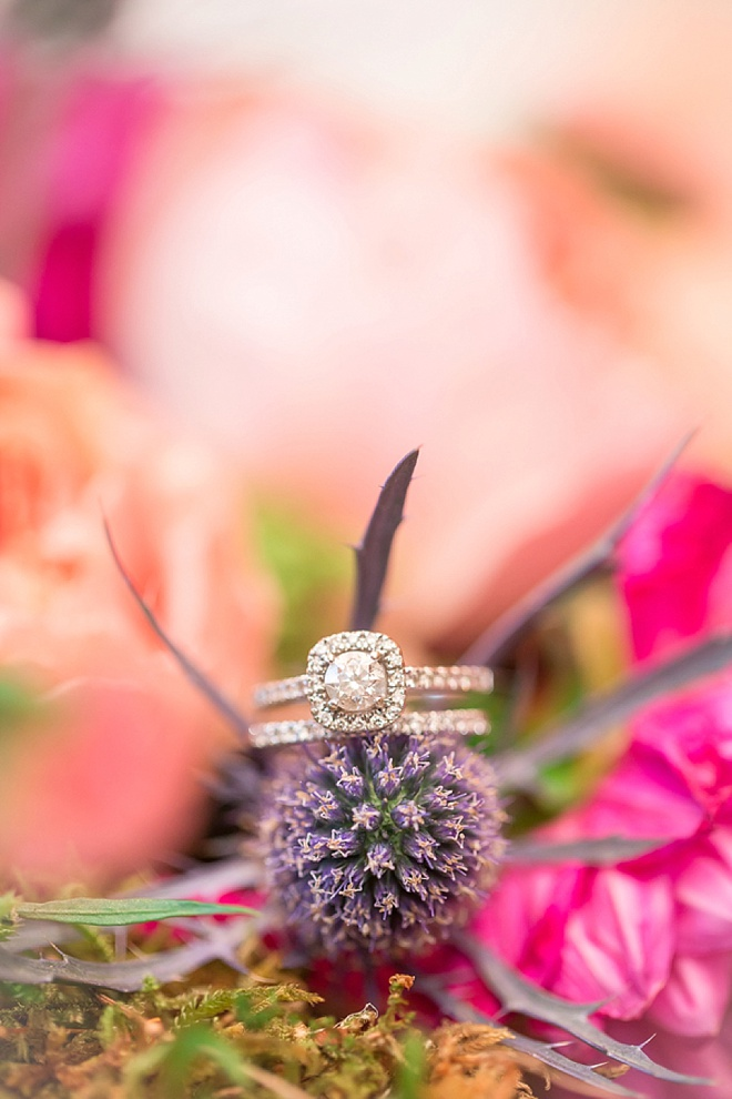 Gorgeous wedding ring shot