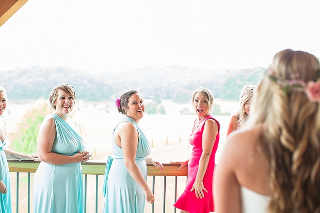 Bridesmaid's First Look!