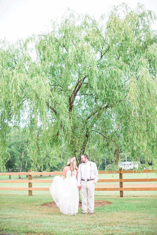 Beautiful, handmade barn wedding on a budget!
