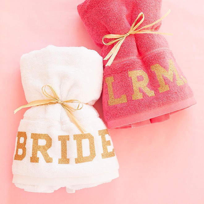 Diy Personalized Beach Towels For You Bachelorette Party