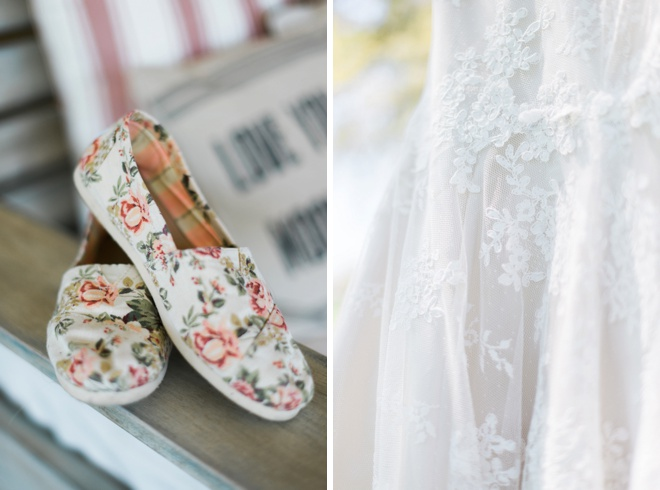 Wedding shoes + dress!