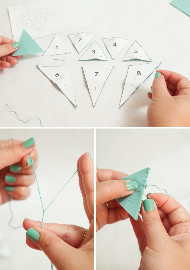 Awesome, DIY giant felt diamond ring for your ring bearer!