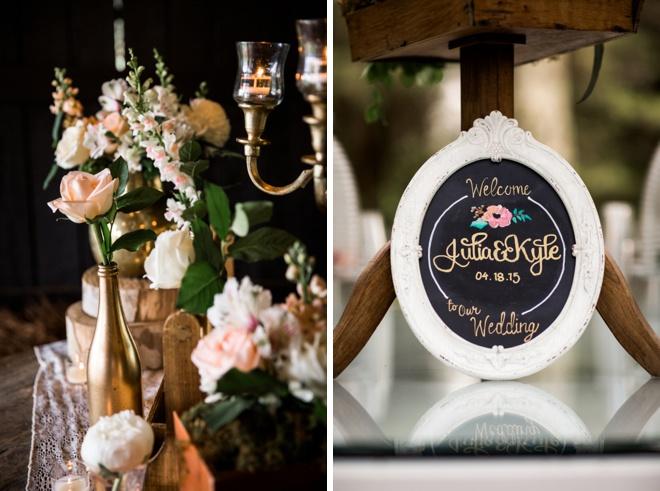 Gorgeous, handmade wedding at Historic Cedarwood