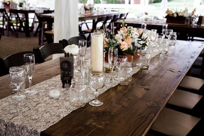 Gorgeous, handmade wedding at Historic Cedarwooda