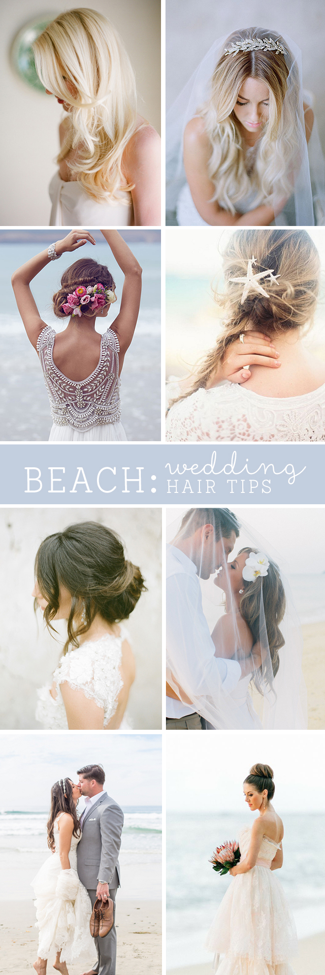The best beach wedding hair tips awesome tips for beach wedding hair must read junglespirit Images