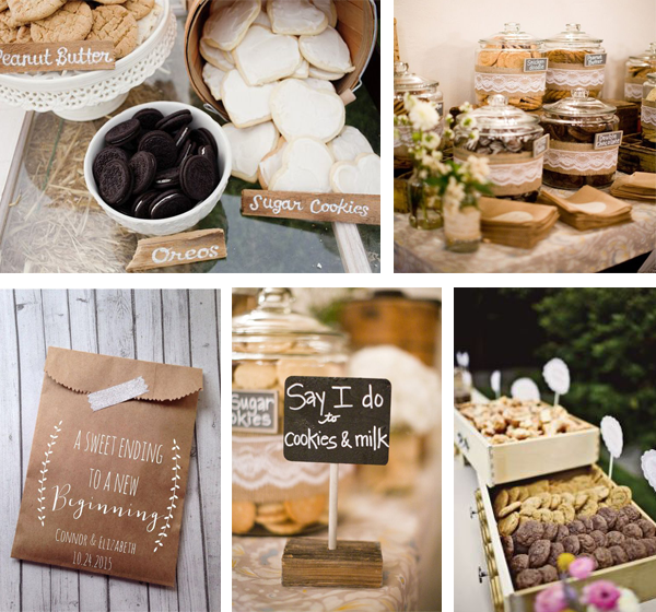 Wedding Dessert Bar Ideas... Going Beyond the Cake!
