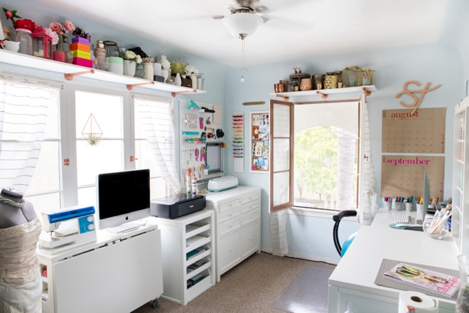 Check Out Jen From Something Turquoise 39 S New Craft Room